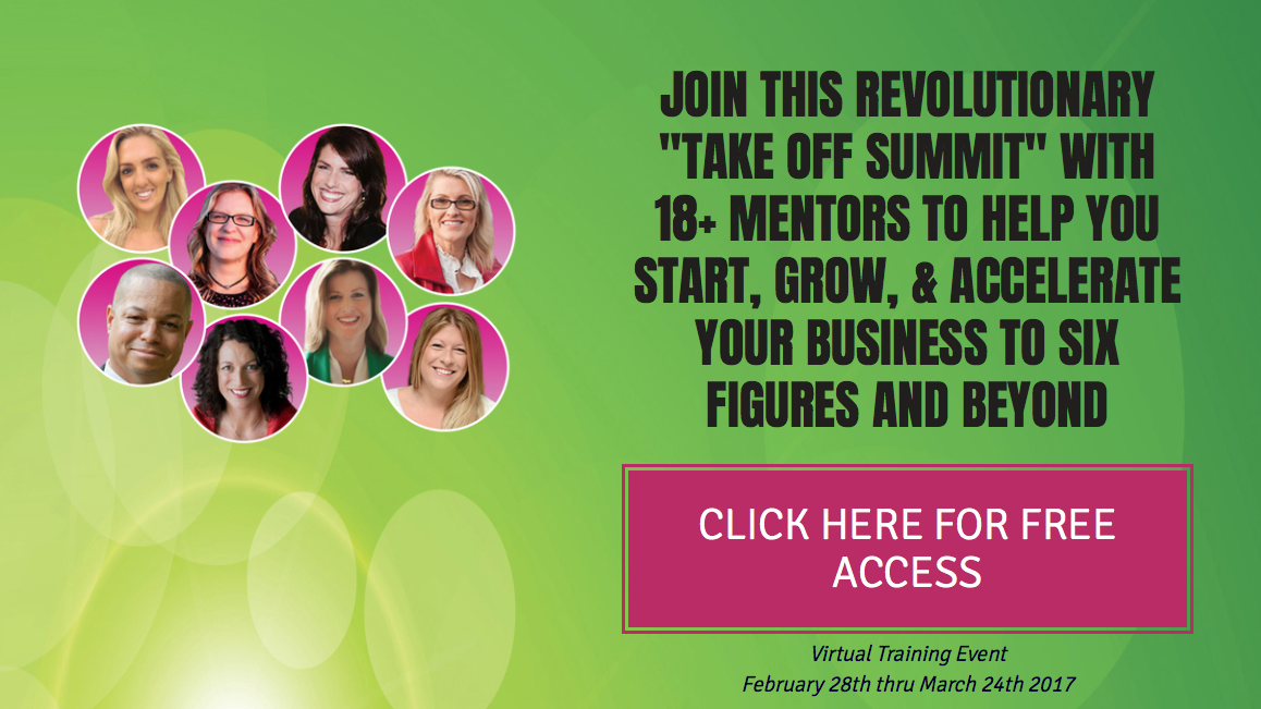 Join me for the Take Off Summit