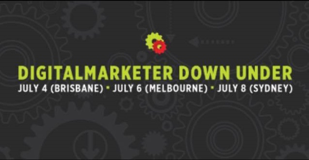 Do you want to grow your business online? We're hosting Digital Marketer Down Under