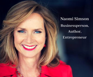 Naomi Simson business person, blogger, entrepreneur